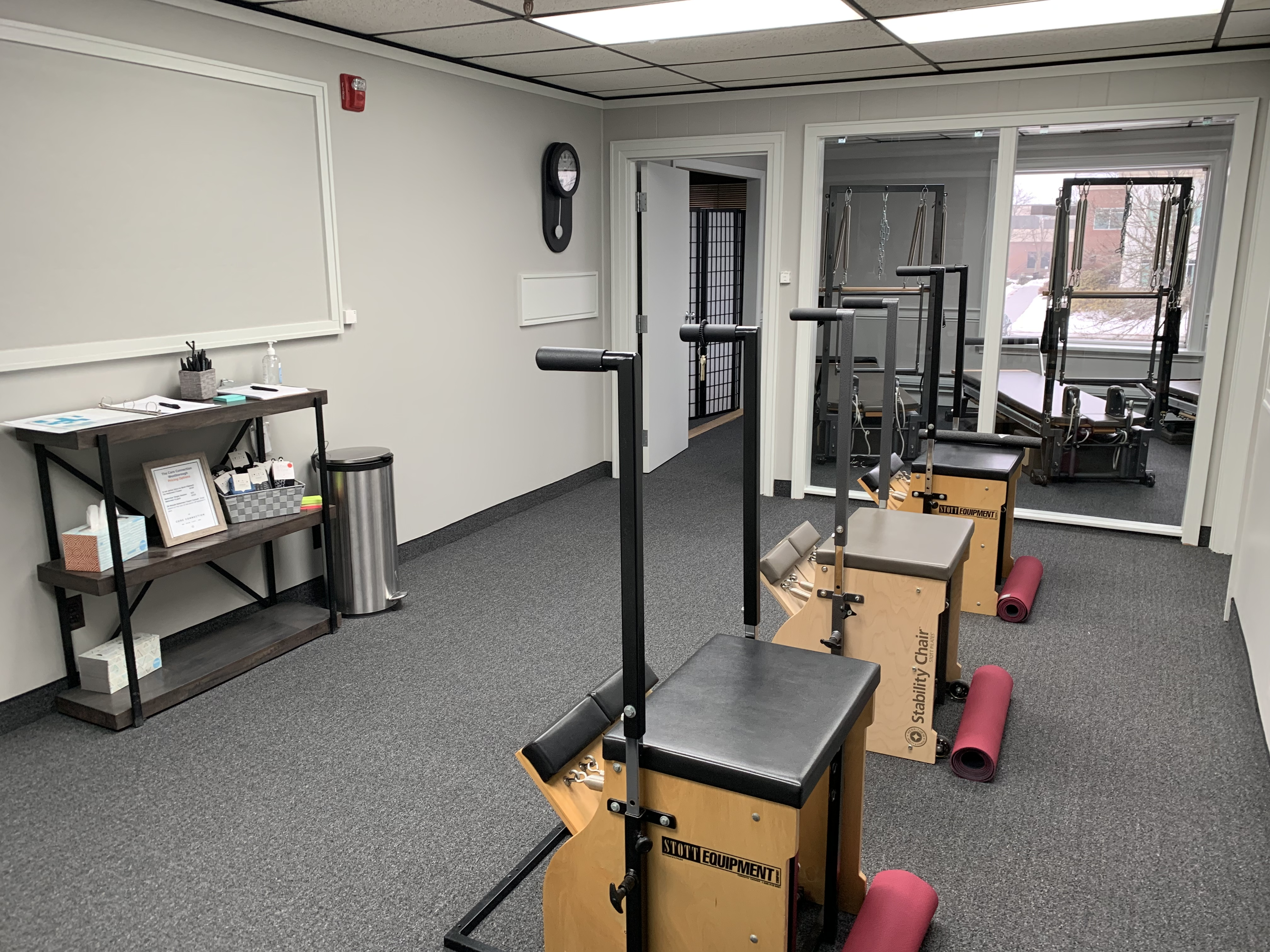 In house workplace gym vs. club membership the core connection